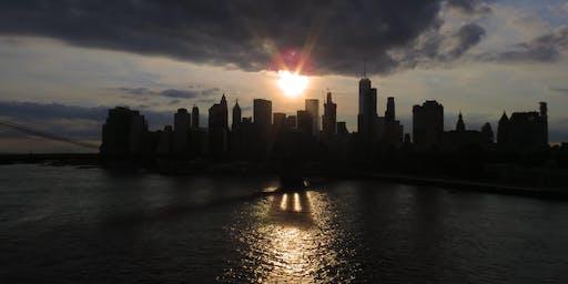 NYC Wild! Bridges of New York: Summer Sunsets: Manhattan Bridge Brooklyn to Chinatown