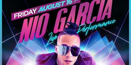 Nio Garcia Performing LIVE at Baru Lounge NJ tickets