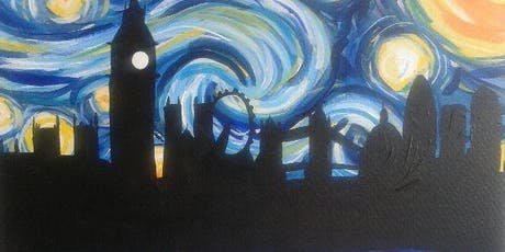 Paint Starry Night over London! Canary Wharf, Tuesday 10 September tickets