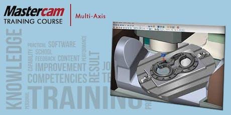 Version 2020 Mastercam Multi-Axis (ACTC - 2 Days) tickets