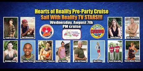 Victory Casino Cruise: Hearts of Reality Kick Off Party tickets