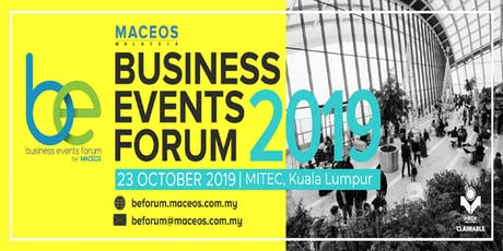 Business Events Forum 2019 tickets