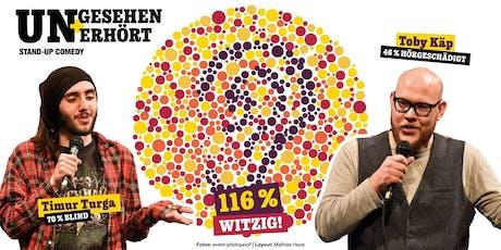 Saarbrücken: ungesehen & unerhört - 116% witzig Tickets