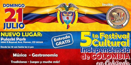5th Colombian Independence Cultural Festival  tickets