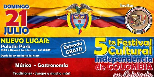 5th Colombian Independence Cultural Festival