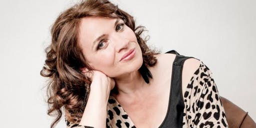 JACQUI DANKWORTH WITH BUTTERFLY'S WING