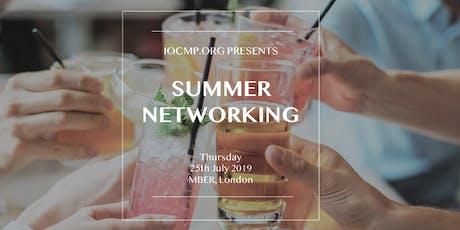 IOCMP Summer Networking Drinks tickets