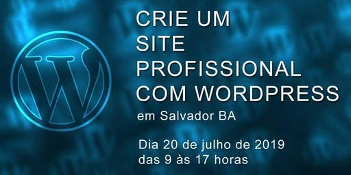 Crie um site profissional com WordPress
