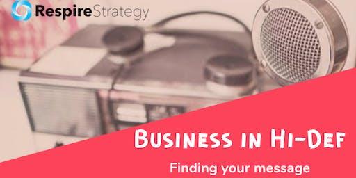 Business in Hi-Definition Workshop Series