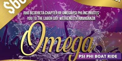 Omega Psi Phi Labor Day Boat Ride