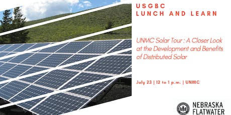 UNMC Solar Tour: The Development and Benefits of Distributed Solar tickets