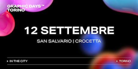 Graphic Days Torino: in the city | 12 Settembre biglietti