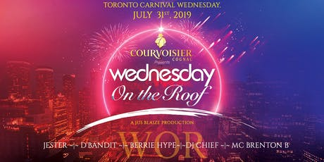 COURVOISIER Presents: The Evolution of... WEDNESDAY ON THE ROOF tickets