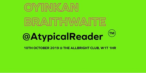 AtypicalReader: Read, Reflect and Rethink with Oyinkan Braithwaite