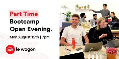 Le Wagon Part Time Bootcamp - Open Evening tickets