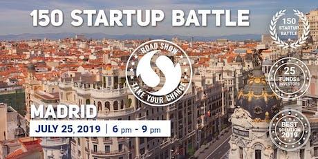 150 Startup Battle, Madrid entradas