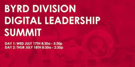 Byrd Division Digital Leadership Summit tickets