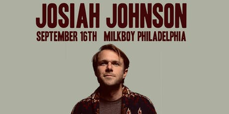 Josiah Johnson (formerly of The Head & the Heart) tickets