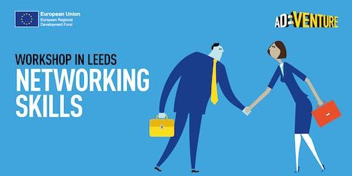 Adventure Business Workshop in Leeds - Networking Skills