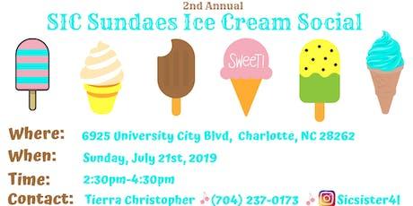 SIC Sundae Ice Cream Social  tickets