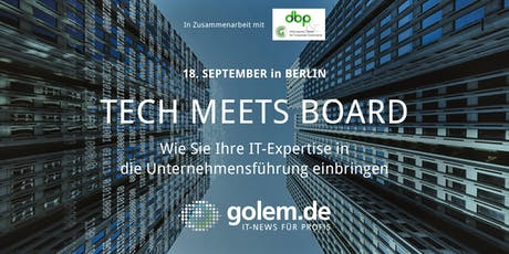 Tech meets Board tickets