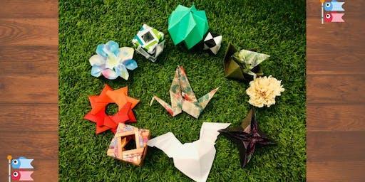 Copie de Origami - Summer workshop for teens