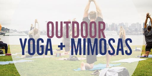 Outdoor Yoga + Mimosas