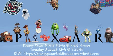 Disney Pixar Movie Trivia at Field House Philly tickets