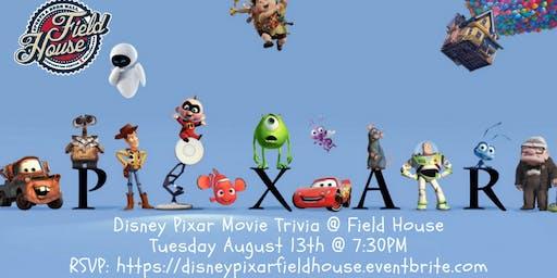 Disney Pixar Movie Trivia at Field House Philly