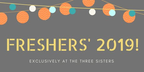 Fresher's 2019 tickets