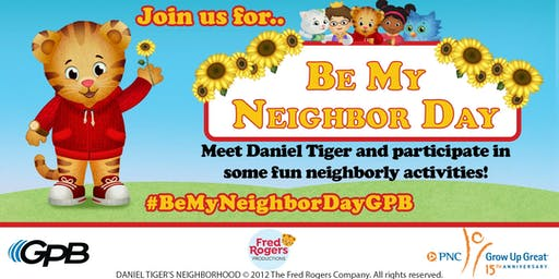 Be My Neighbor Day with Daniel Tiger