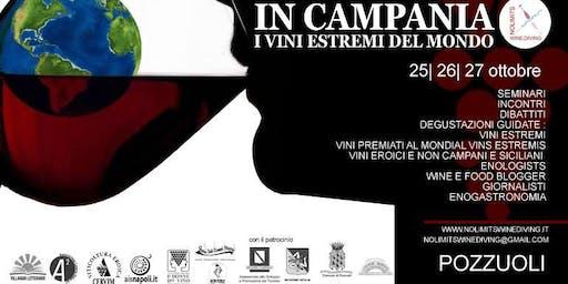 No Limits Wine e Diving. Vini estremi del mondo da degustare a Pozzuoli