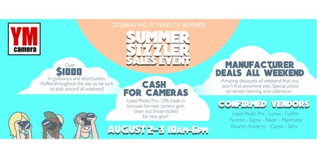 YM Summer Sizzler: Two Day Extravaganza tickets