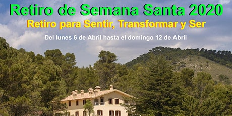 Retiro de Consciencia Semana Santa 2020 entradas