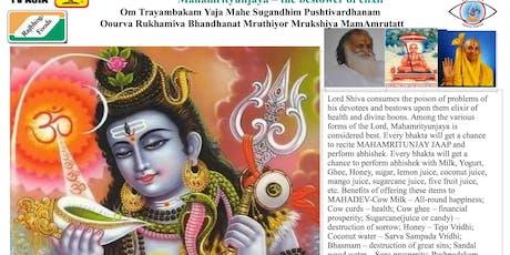 Ekadash | Rudrabhishek | Mahamritunjay Jaap | 4th August 2019 | TV Asia tickets