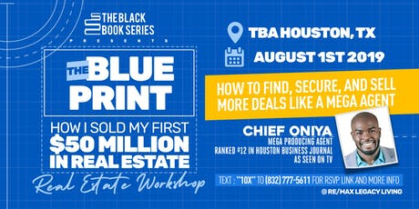 The Blueprint With Mega Producing Agent Chief Oniya tickets