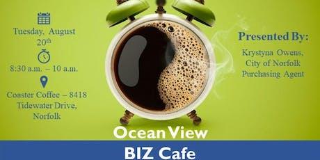 Ocean View BIZ Cafe tickets