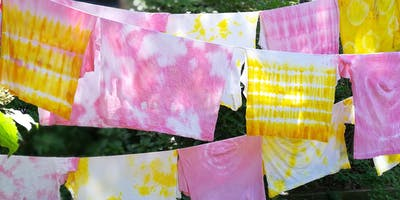 DIY Days: Tie-Dye With Flowers  -  Freehold Raceway