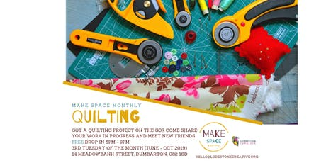 Make Space Quilting Monthly Meet Up tickets