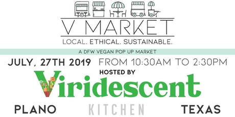 V-Market + Viridescent Kitchen Grand Opening tickets