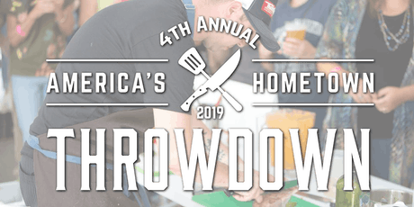 4th Annual America's Hometown Throwdown Chef Competition tickets