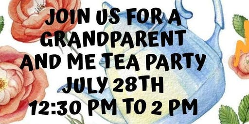 Grandparent and Me Tea Party