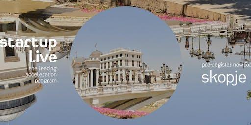 Startup Live Skopje — boost your startup