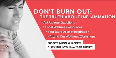 Inflammation Nation: STOP Chronic Low Grade Inflammation