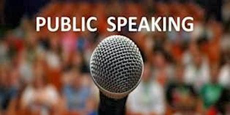 Public Speaking Workshop tickets
