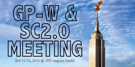 2019 GP-W & Sc2.0 Meeting tickets