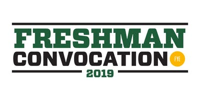 Freshman Convocation 2019