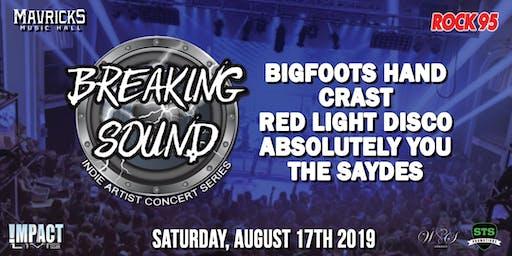 BREAKING SOUND Indie Concert Series Kick-Off Party