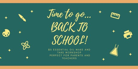 Back to School Make and Take Workshop tickets
