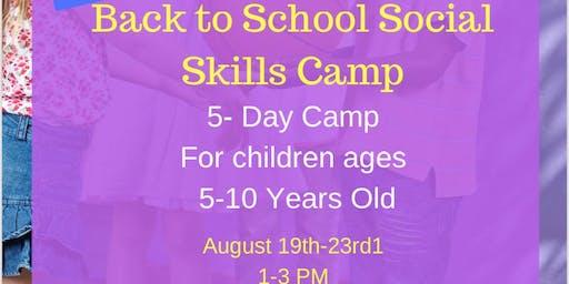 Social Skills Camp